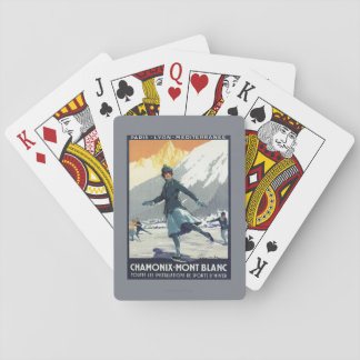 Ice Skating - PLM Olympic Promo Poster Deck Of Cards