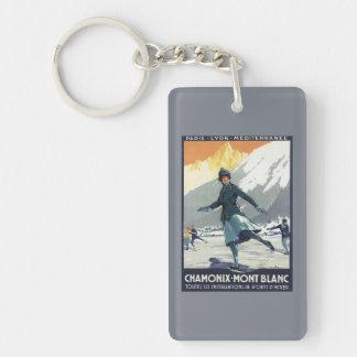 Ice Skating - PLM Olympic Promo Poster Double-Sided Rectangular Acrylic Key Ring