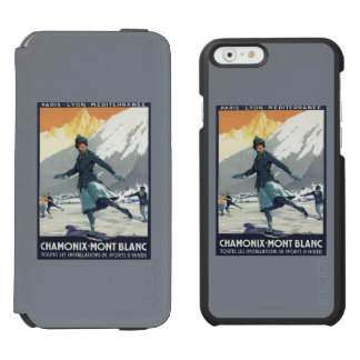 Ice Skating - PLM Olympic Promo Poster Incipio Watson™ iPhone 6 Wallet Case