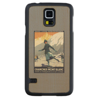 Ice Skating - PLM Olympic Promo Poster Maple Galaxy S5 Slim Case