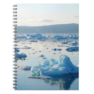 Iceberg bay notebook