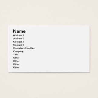 Iceberg formations business card