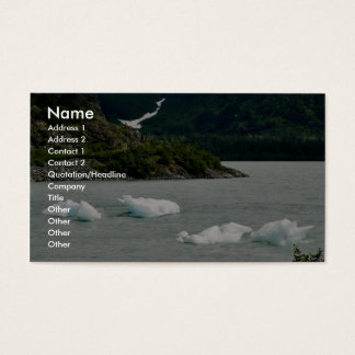 Icebergs Business Card