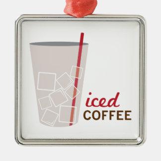 Iced Coffee Christmas Ornament