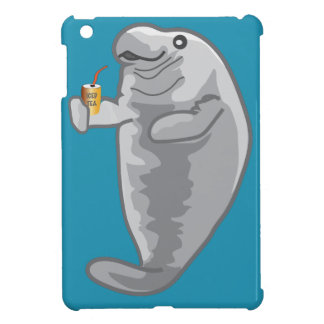 Iced Manatee - just chill iPad Mini Cases