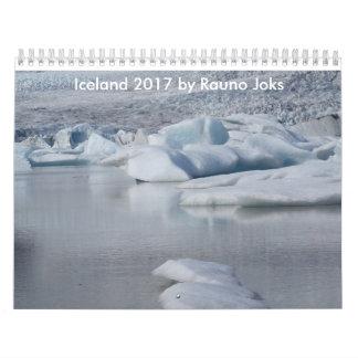 Iceland 2017 by Rauno Joks Calendars