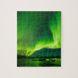 Iceland Northern Lights Jigsaw Puzzle