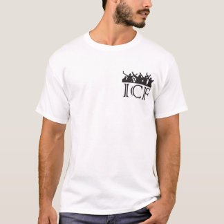 ICF retro casual terraces t-shirt, 80's hooligan T-Shirt