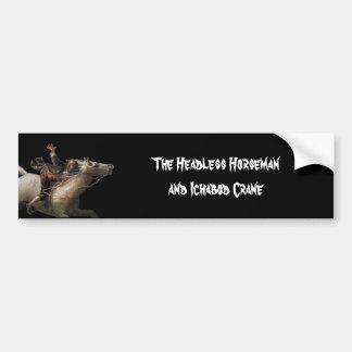 Ichabod Crane of Sleepy Hollow Bumper Sticker