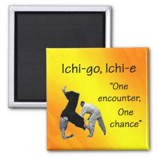 Ichi-go Ichi-e Square Magnet