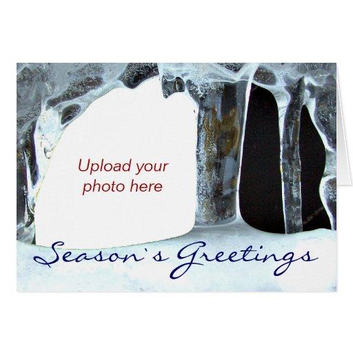 Icicle Season´s Greetings Greeting Cards