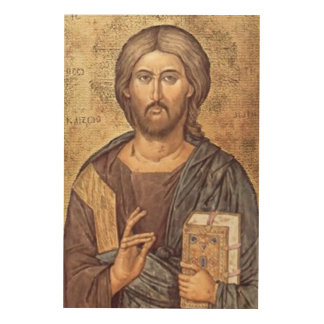 ICON OF CHRIST WOOD CANVASES