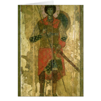 Icon of St. George, 1130-50 Card
