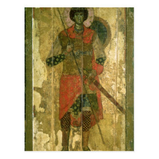 Icon of St. George, 1130-50 Postcard