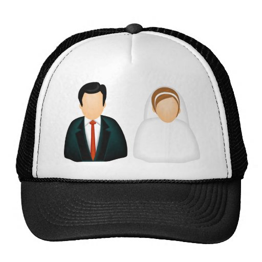 Icon Wedding Mesh Hats