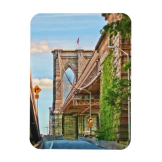 Iconic Brooklyn Bridge Magnet