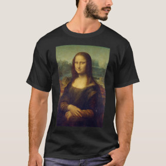 Iconic Leonardo da Vinci Mona Lisa T-Shirt