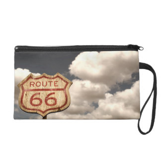 Iconic Route 66 Wristlet