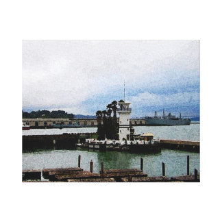 Icons of San Francisco I Stretched Canvas Print