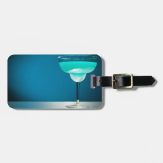 Icy Blue Margarita Luggage Tag