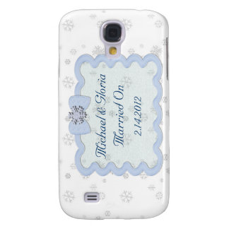 Icy Snowflake Celebration Galaxy S4 Case