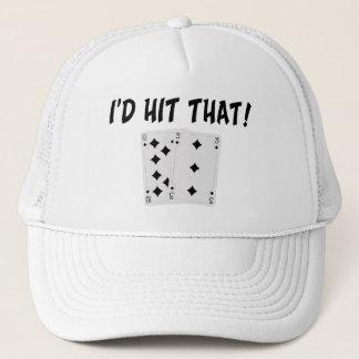 I'd Hit That Blackjack Trucker Hat