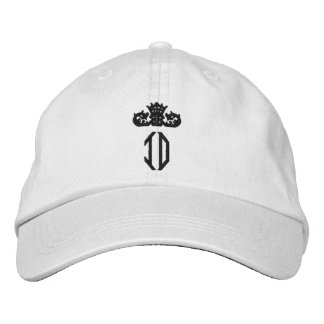 ID Monogram Personalized Adjustable Hat Embroidered Baseball Caps
