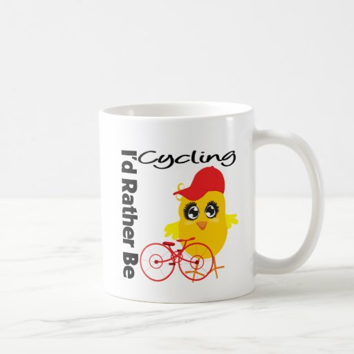 I'd Rather Be Cycling Mugs