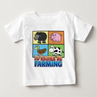 I'd rather be farming! (virtual farmer) tee shirt