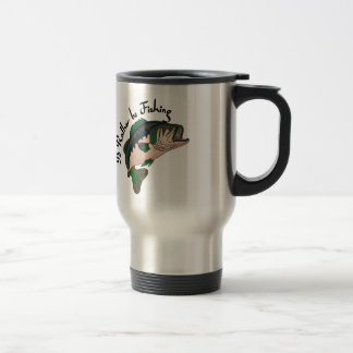 Id Rather be Fishing Stainless Steel Travel Mug