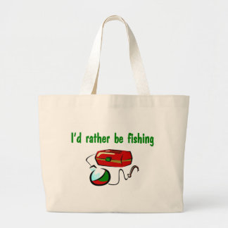 I'd Rather Be Fishing Tote