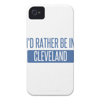 I'd rather be in Cleveland OH iPhone 4 Case