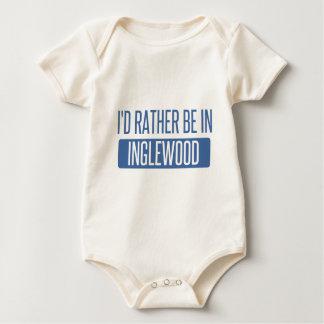 I'd rather be in Inglewood Baby Bodysuit