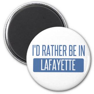 I'd rather be in Lafayette LA Magnet