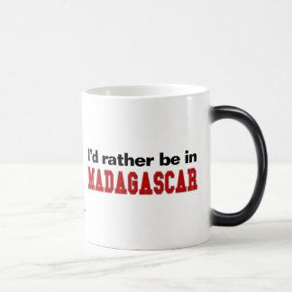 I'd Rather Be In Madagascar Magic Mug