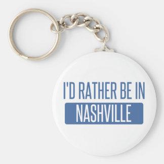 I'd rather be in Nashville Key Ring