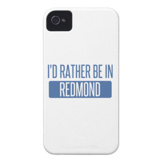 I'd rather be in Redmond Case-Mate iPhone 4 Cases