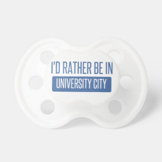 I'd rather be in University City Dummy