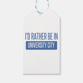 I'd rather be in University City Gift Tags