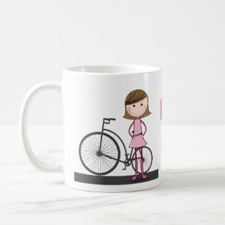 I'd rather be on my bike! basic white mug
