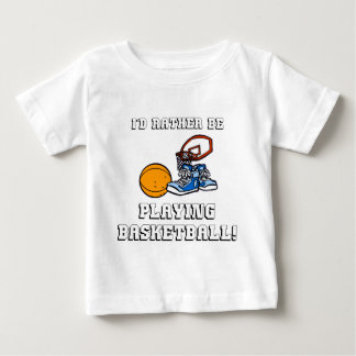 I'd Rather Be Playing Basketball! Tshirt