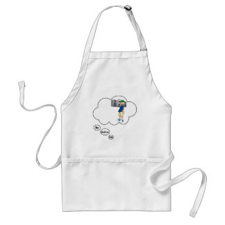i'd rather be playing Punk Music 2 Standard Apron