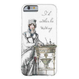 I'd Rather be Regency Fashion Plate Barely There iPhone 6 Case
