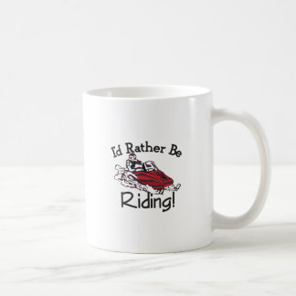 Id Rather Be Riding Coffee Mug