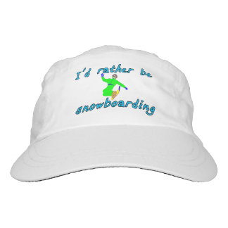 I'd rather be snowboarding hat