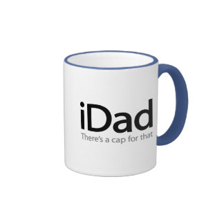 iDad - A Funny Father s Day Mug for Dad