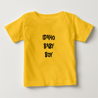 IDAHO BABY BOY SHIRTS