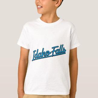 Idaho Falls in cyan T-Shirt