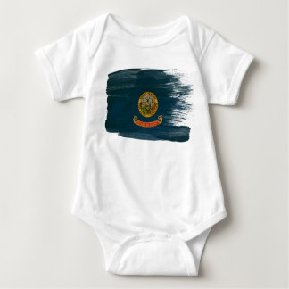 Idaho Flag Baby Bodysuit