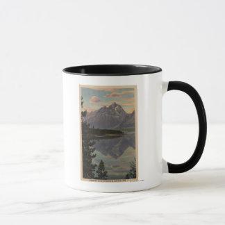 Idaho - Grand Teton Reflection on Jackson Lake Mug